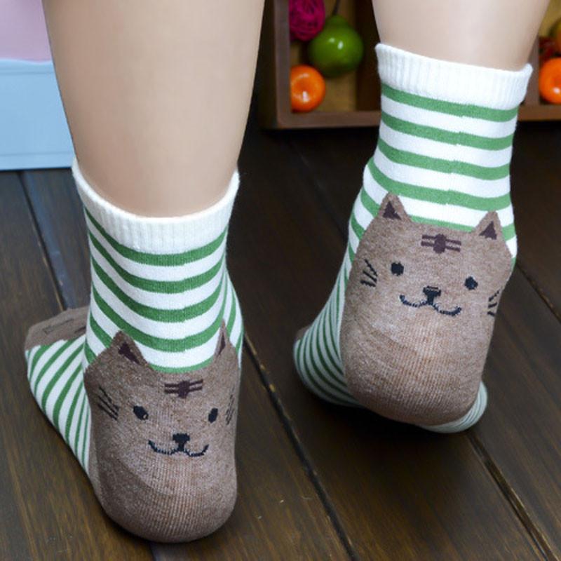 Cute Socks With Cartoon Cat For Cat Lovers Cute Socks With Cartoon Cat For Cat Lovers HTB1YhTSQVXXXXbaapXXq6xXFXXXi