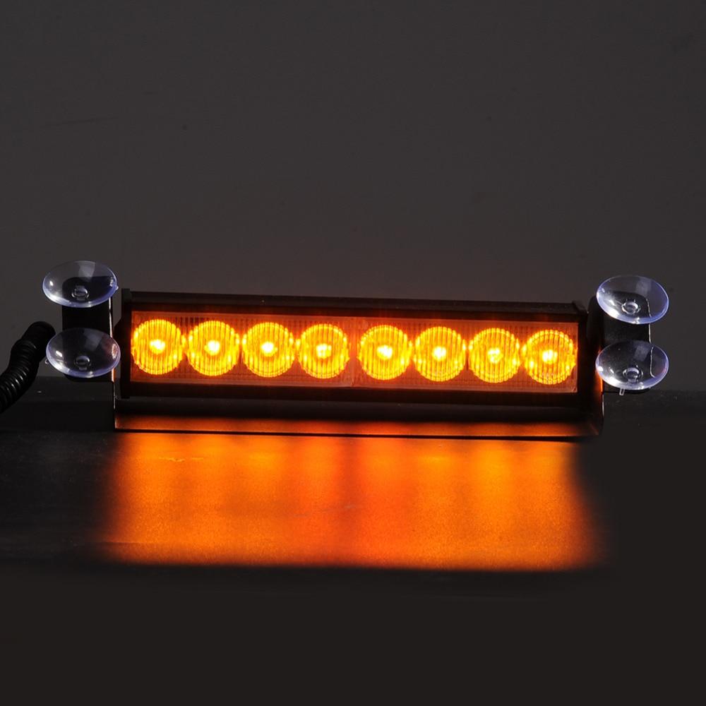 10000-12000MCD Super Parlaq 8 LED12V 8W Siqnal Sönən Xəbərdarlıq - Avtomobil işıqları - Fotoqrafiya 5