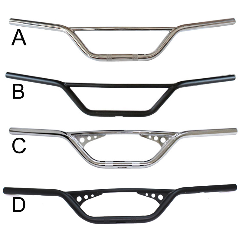 Universal Motorcycle Custom1 25mm or 7 8 22mm Bar Pullback Motorcycle Handlebar For Harley Yamaha Honda