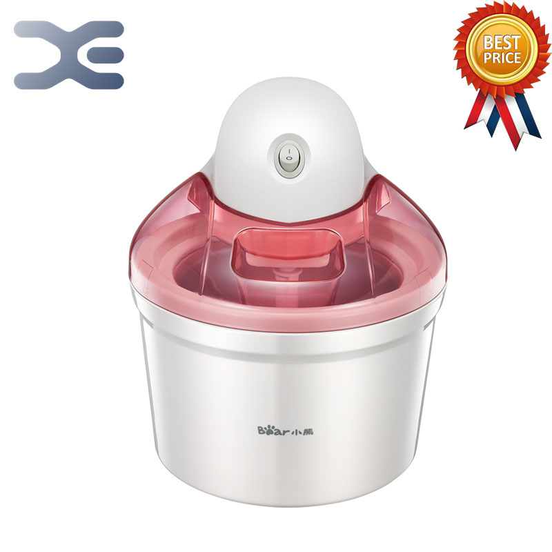 High Quality 1.2L Machine Icecream Ice Cream Machine Home Appliances Fully Automatic Free Shipping home intelligent fully automatic american style coffee machine drip type small is grinding ice cream teapot one machine