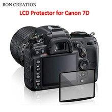 Bon создания 1 шт. Профессиональный ЖК-дисплей оптический Стекло Экран протектор для Canon 7D компактный Стекло защитный Плёнки камеры аксессуары