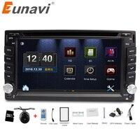 Eunavi universal Car Radio Double 2 din Car DVD Player GPS Navigation In dash Car PC Stereo Head Unit video+Free Map+Free Cam!