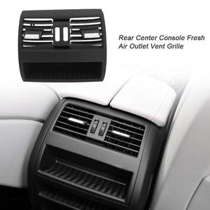 Image 3 - Air Conditioning Vent Outlet Rear Center Console Fresh Air Outlet Vent Grille Cover for BMW 5 SerieF10 F18 Auto Accessories Part