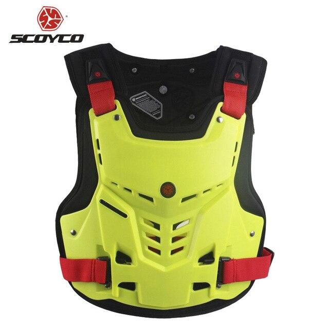 SCOYCO AM5 Мотоцикл бронежилет Мотоцикл грудь обратно защиты Шестерни Мотокросс Armor гонки жилет мотоцикла протектор оборудования