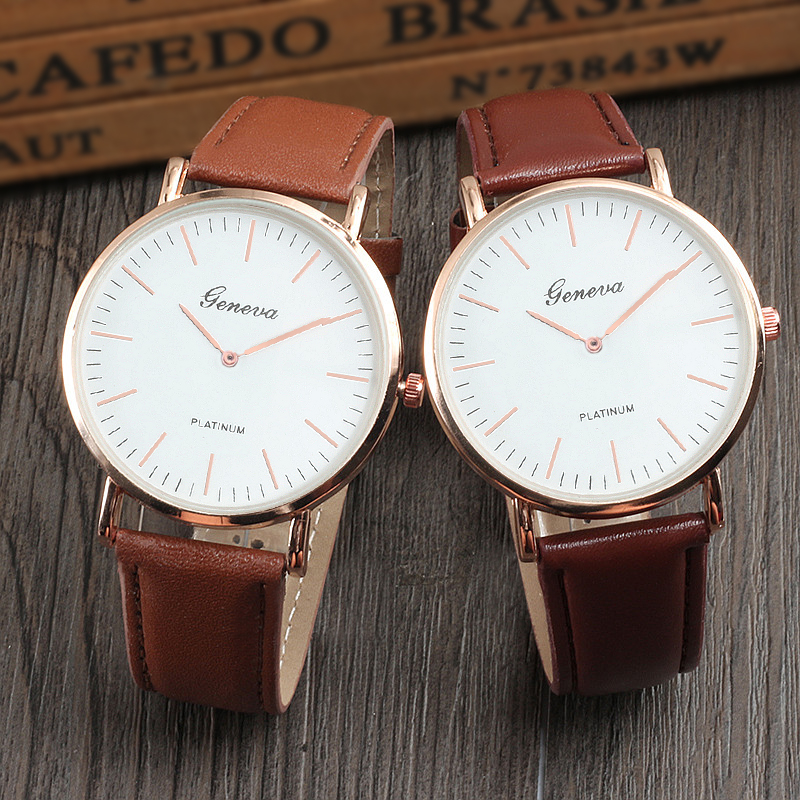 Luxury Male Clock Simple Business Quartz Men Watch Fashion Dress Ladies Watches Leather Strap Sports Wristwatches Montre Femme