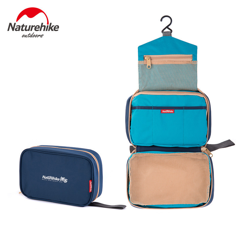 NatureHike Large Capacity Portable Waterproof Wear-Resisting Travel Toiletry Bag