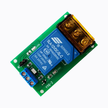 High Power Relay Module / Optocoupler Isolation / High / Low Level Trigger / 5V / 12V / 24V High Current 1pcs 3 3v 1 channel 3v relay module optocoupler isolation low level trigger relay module