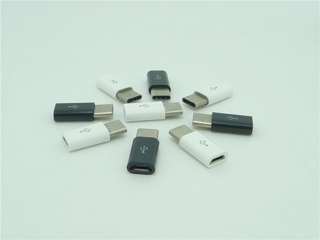 100pcs Micro switch type - c type joint V8 interface turns - c converter type - c phone connector