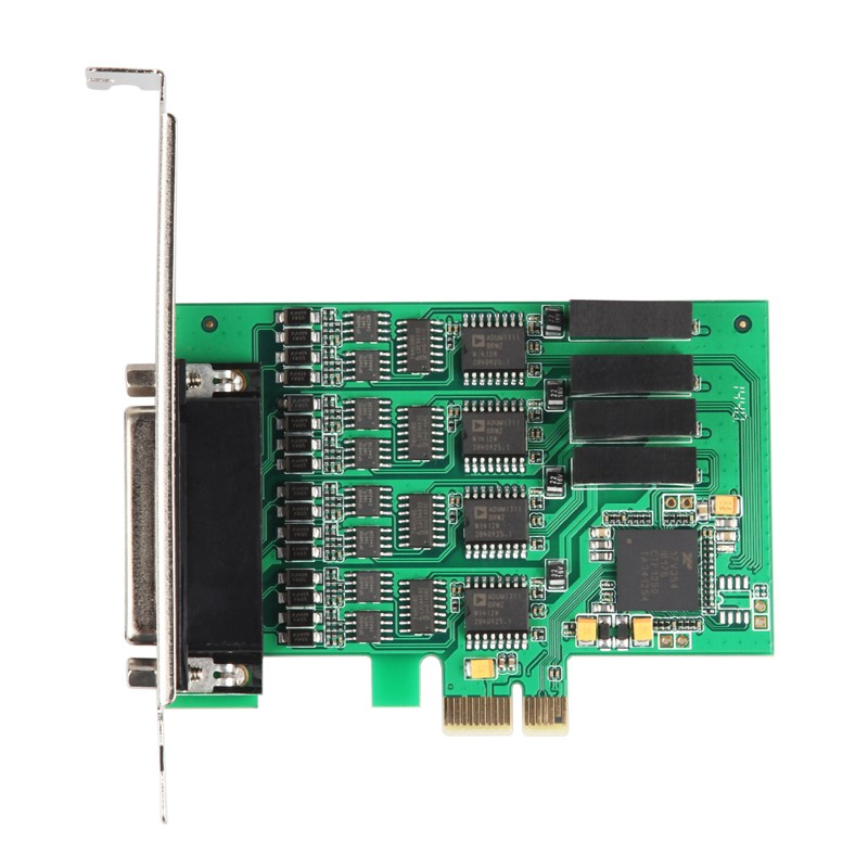 Good Quality PCI Express PCIe PCI-E to 2 Port RS422 / R485 Industrial Serial Card Adapter with Cable Best Price original ni pci 6013 selling with good quality and professional