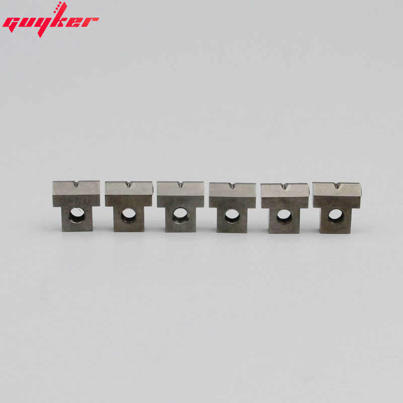 1 Set 6 Pieces Titanium Alloy Tune O Matic Bridge Saddle For