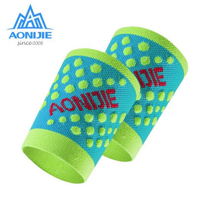 AONIJIE Wristband Quick-Drying Nonslip Wrist Wrap Sweatbands For Running Fitness Sports Hand Bracers Tennis Basketball Guard Fit