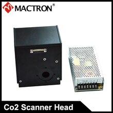 20 мм Диафрагма лазерный сканер гальванометр голова с DC Питание для Co2 лазерной маркировки