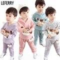 2016 de Invierno Para Niños Ropa Niños Niñas Juegos de Ropa Para Niños Ropa de Bebé Niño de Las Muchachas Niños Ropa Boutique Coreano Coat + Pants