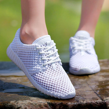Women Shoes Breathable Mesh Hollow Female Network Soft Lightweight Casual Shoes dames sneakers damesschoenen Soft 5
