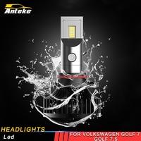 ANTEKE for Volkswagen Golf 7 Golf 7.5 Car Styling Front Light Headlights Assembly LED Lamp