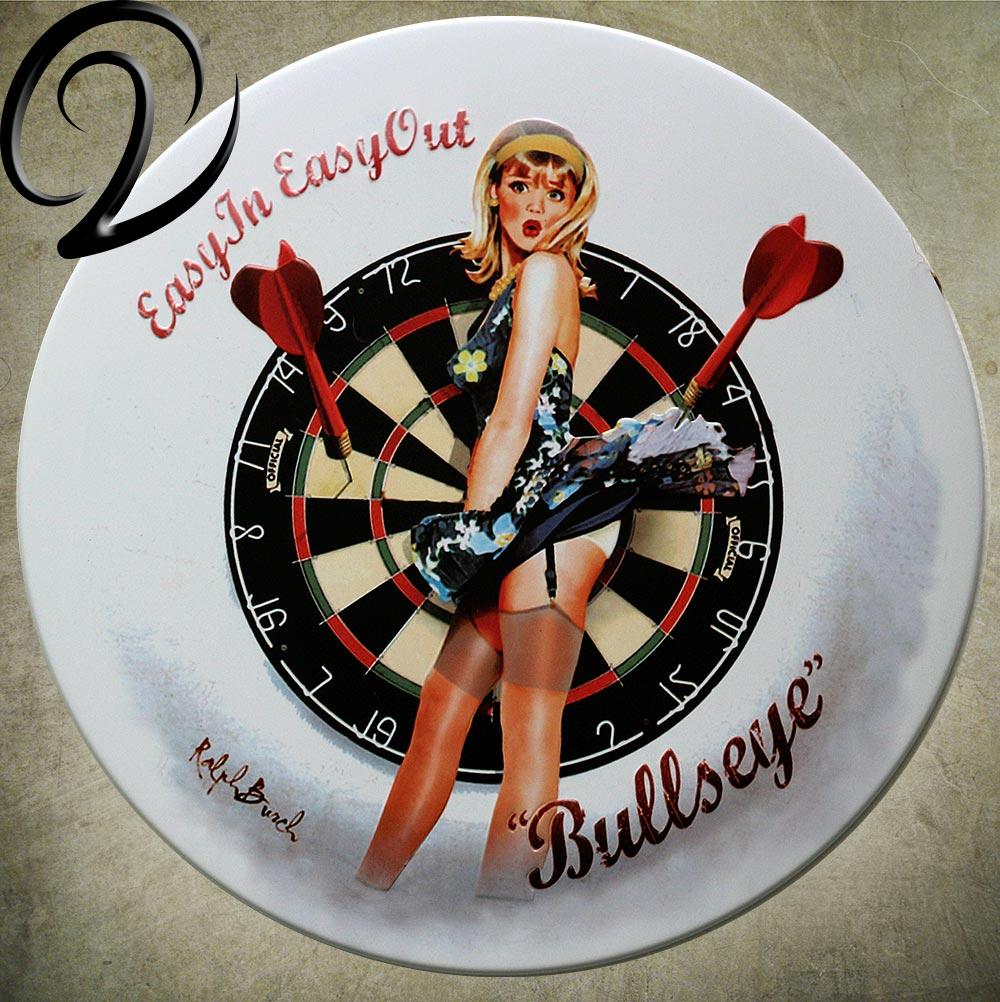 Aliexpresscom  Buy Darts Sticker Sexy Girl Metal Tin -6570