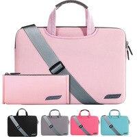 Portable Laptop bag 15.6 14 13 12 11.6 Shoulder bag Computer Sling Bag men women Messenger Sleeve case for Macbook Air Pro 13 15