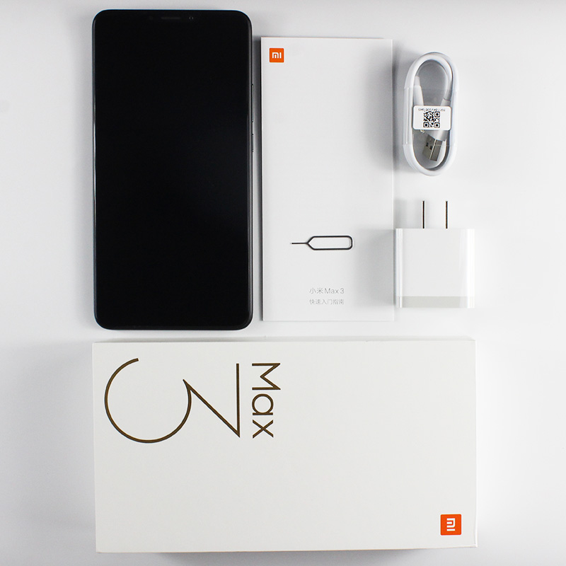 "Global ROM Xiaomi Mi Max 3 4GB 64GB/6GB 128GB Mobile Phone Snapdragon 636 Octa Core AI Dual Cameras 6.9"" Full Screen 5500mAh"