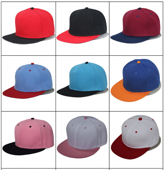 abc96a643 US $80.0 |Newly 2 Tone Blank Plain Snapback Hats Hip Hop Adjustable Bboy  Baseball Cap For Men Women Mix Color Mix Order Free Shipping 003-in  Baseball ...