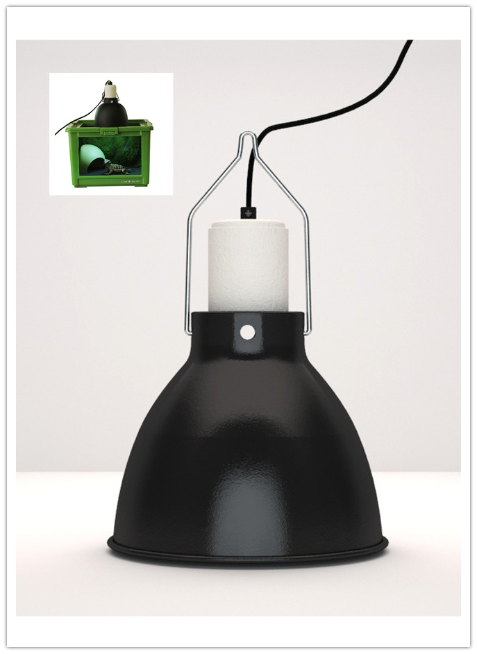 Reptile And Amphibian Deep Lamp Fixture Best For UVA U0026 UVB Mercury Vapor  Bulb(China