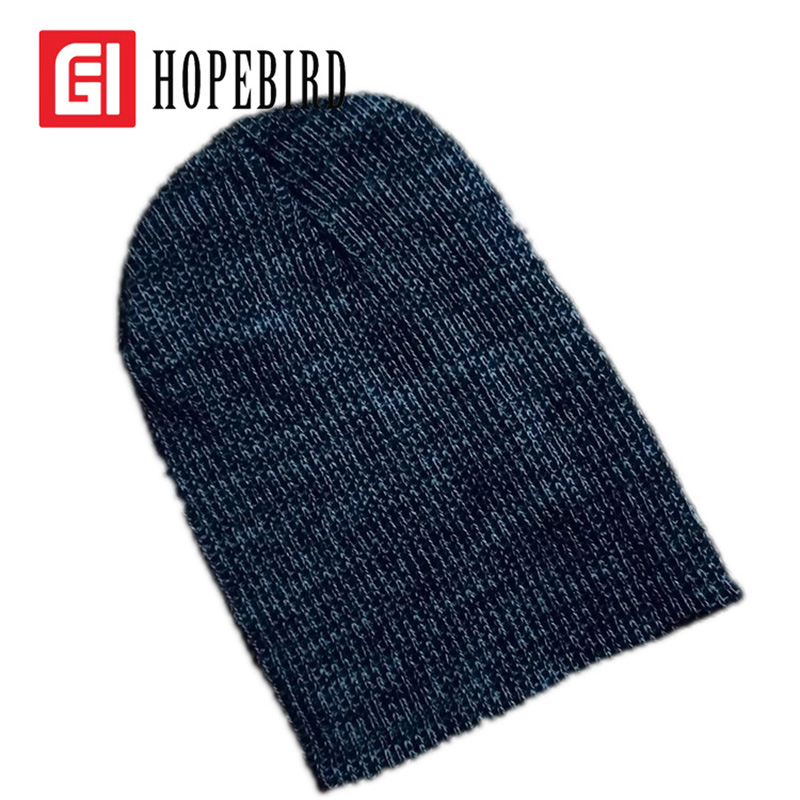 HOPEBIRD Cotton Knit Women Men Fashion Hat Winter Fashion Bonnet Crochet Slouchy Cap Warm Skullies Beanies Femme Hip Hop Hats 2017 winter women beanie skullies men hiphop hats knitted hat baggy crochet cap bonnets femme en laine homme gorros de lana