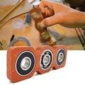 DIY Творческий Деревянный Непоседа Spinner EDC Фокус Игрушки Для СДВГ Austim Упражнение Игрушки