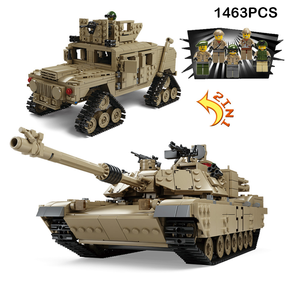 1463pcs World War Military Tank Deformation Armored Vehicle Army Figures Building Blocks Compatible Legoe City Bricks Kid Toys стоимость