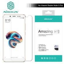 Nillkin for Xiaomi Redmi Note 5 Pro 9H / H+ Pro Tempered Glass Screen Protector 0.2mm Ultra Thin Redmi Note 3 4 5 Nilkin Glass