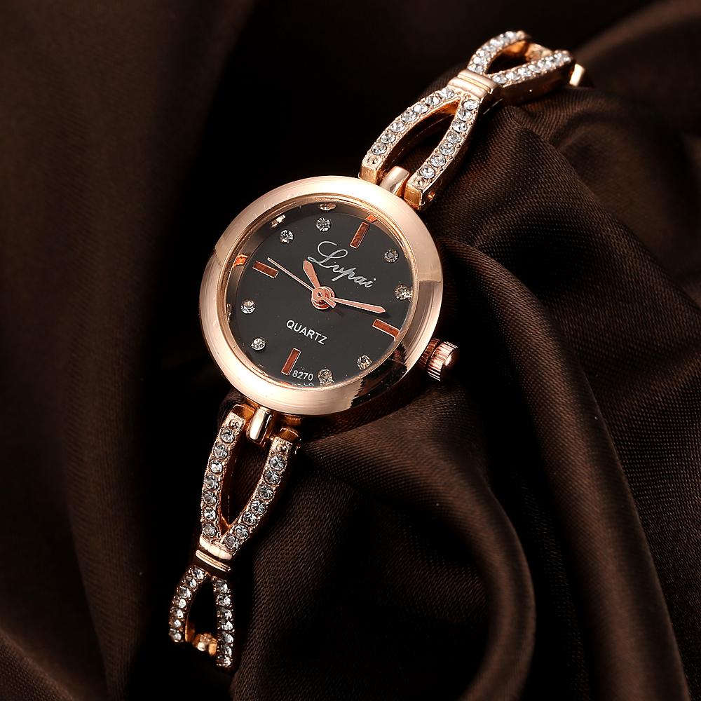 Lvpai Brand Fashion Women Bracelet Watch Luxury Rose Stainless Steel Band Quartz Watches Ladies Dress Sport Watches Clock LP078 2017 new arrive lvpai brand rose gold women bracelet watch fashion simple quartz wrist watches ladies dress luxury gift clock