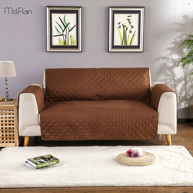 Hot Universal Size Sofa Covers For Living Room One Piece Removable Towel Armrest Couch