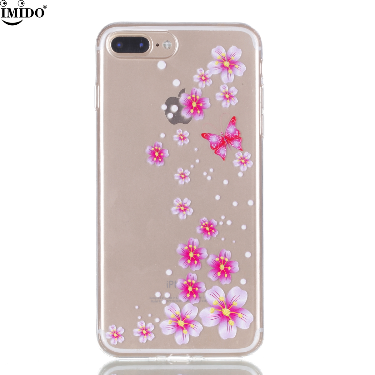 For iphone 7 plus Cover Case iphone 7plus Coque Transparent TPU Cover iphone7plus Capa para iphone 7 phone case