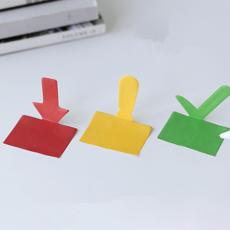 4 pcs Punctuation sticky note Color marker memo pad Question Arrow book mark planner label Office School supplies FM354 in Memo Pads from Office School Supplies