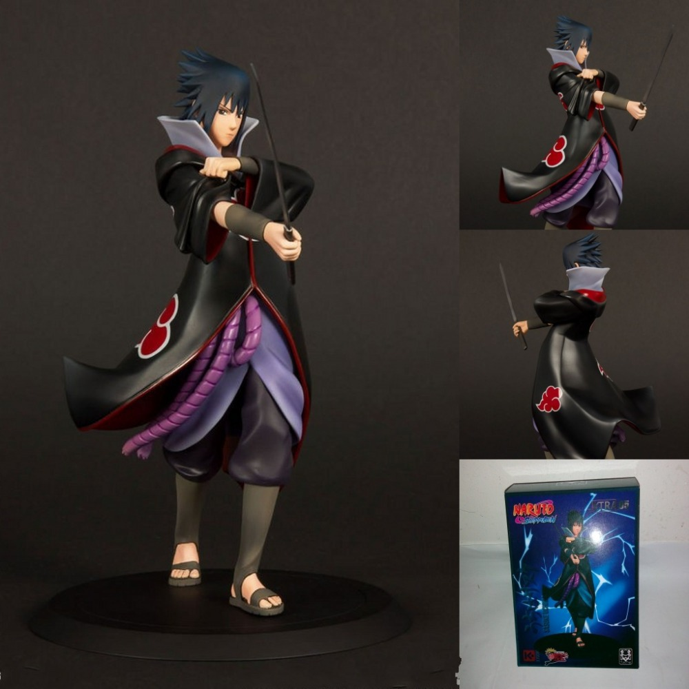 about 17 CM PVC Action Figure Naruto Sasuke Uchiha  Garage Kits Collection Model Toy gift w5753 anime one piece dracula mihawk model garage kit pvc action figure classic collection toy doll