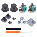 New Original 3D Analog Vibration Joystick +Thumb Stick Mushroom Cap + LB/RB/ LT/RT Button Conductive Pad for XBox One Controller