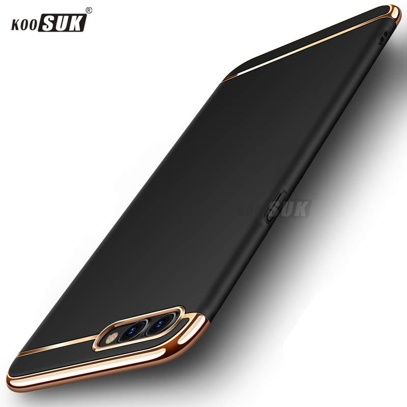 A5 Case For OPPO A5 Cover 3in1 Full Body Protection Shell hard Luxury Back Cover For OPPO A3S Phone Cases Bag Coque Ultra-thin