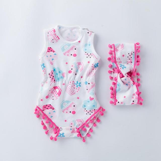 6c4676b45985 Minnie Newborn Infant Baby Boy Girls Clothes Watermelon Bowknot Rompers  Outfits Clothes Children s Clothing Infantil Babies Sets