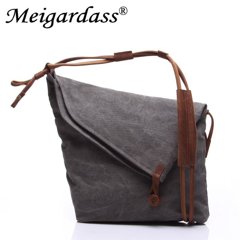 Canvas Bag Vintage Shoulder Bag Women Handbags Ladies Hand Bag Tote Casual Crossbody Bags for Women 2018 Bolsas Feminina