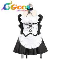 Free Shipping Cosplay Costume Maid Sama Maid Dress Uniform Retail Wholesale Halloween Christmas Party