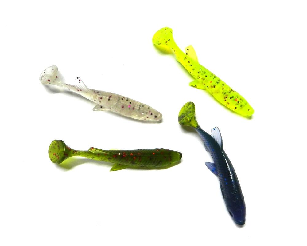 Soft plasitc lure plastic fishing bait saltwater fishing for How to make plastic fishing lures