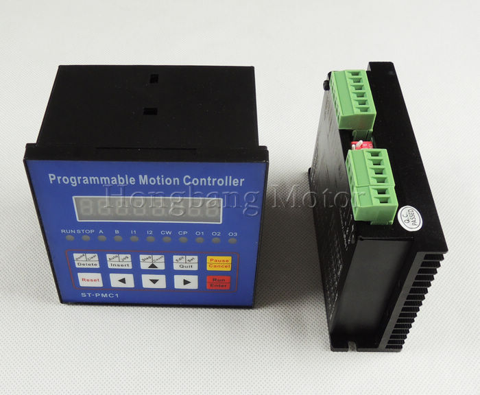 CNC Single Aixs controller kitStepper motor Single axis motion controller programmable ST-PMC1+ TB6600 stepper motor driver