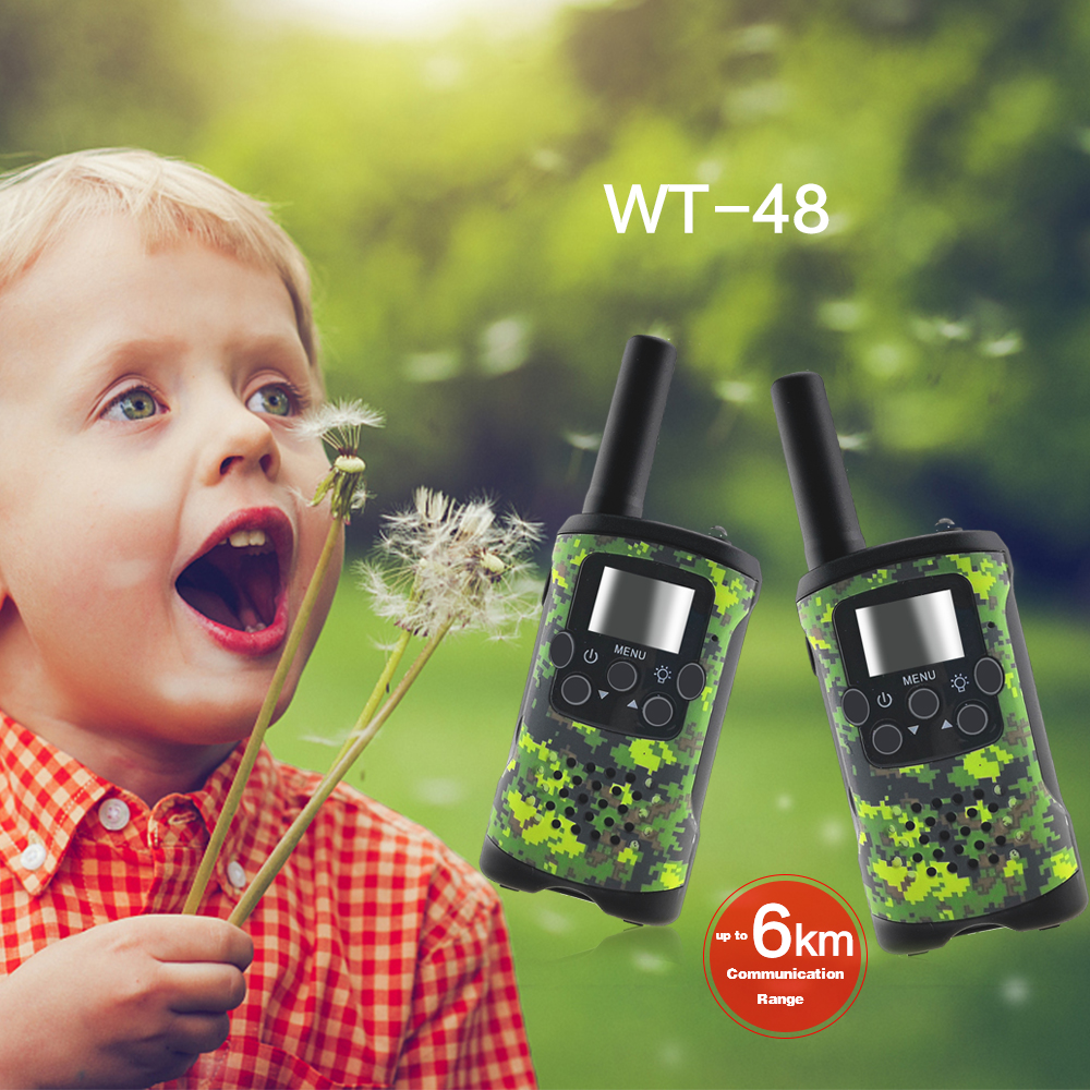 Image 5 - 2 Way Kids Walkie Talkies Range up to 6km 8/20/22CH FRS/GMRS 400 470MHZ Mini Radio Toys Walkie Talkie Children Intercom Gifts-in Walkie Talkie from Cellphones & Telecommunications