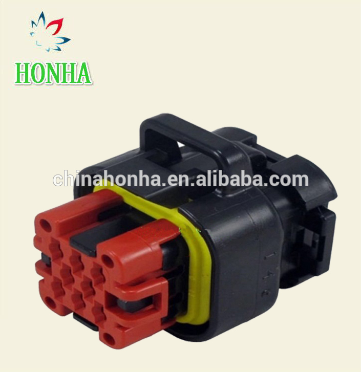 free shipping 10 sets amp tyco te connectivity 8 pin wire harness  automotive ecu connector plug