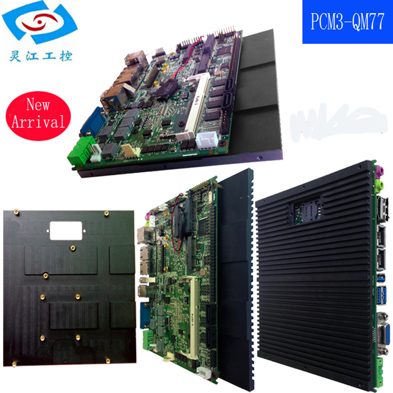 Mini Itx industrial Motherboard with intel qm77 I5-2410M 2.3GHz for Kiosk Machine m945m2 945gm 479 motherboard 4com serial board cm1 2 g mini itx industrial motherboard 100
