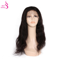 Real Beauty 360 Lace Frontal Wig Brazilian Body Wave Lace Front Human Hair Wigs For Women Pre Plucked 180 Density Remy Hair