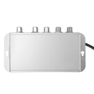 Image 5 - New 4 Way CATV VCR TV Antenna Signal Amplifier 220V 45 860MHz Booster Splitter