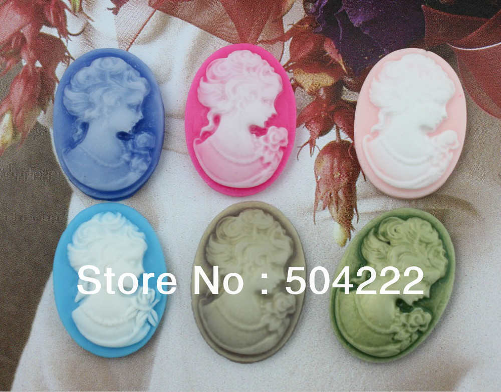 Jewelry Findings & Components 200pcs Mixed Colors Bears Resin Decoden Kawaii Flatback Cabochon 24mm Lovely Printed D25