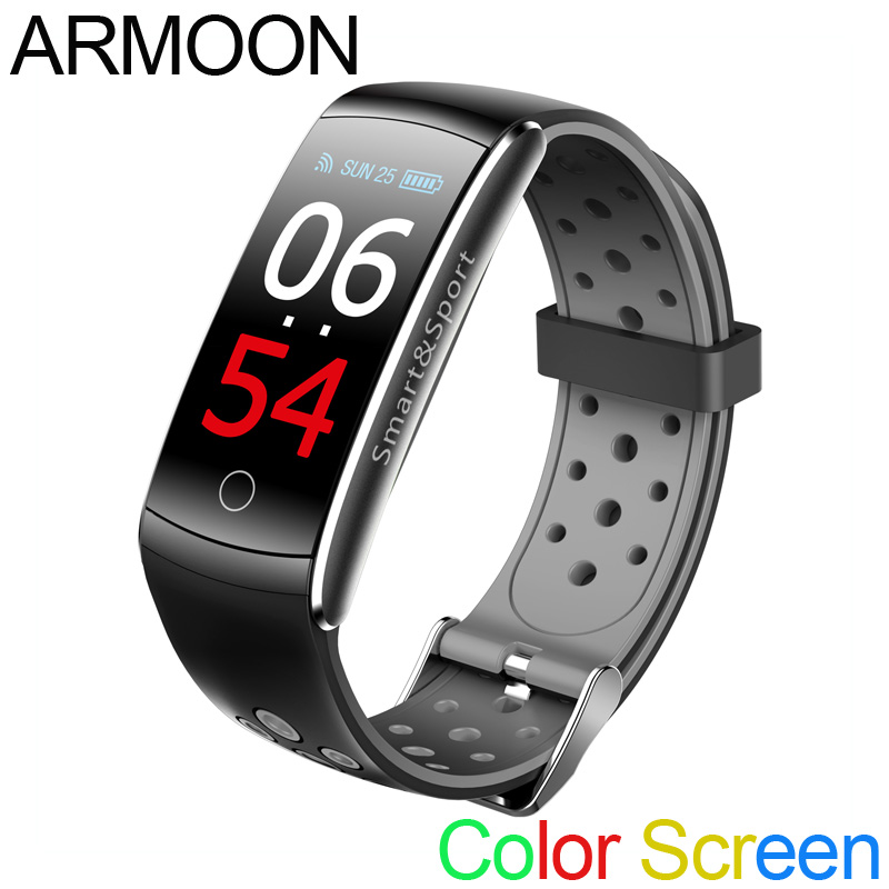Smart Bracelet Q8S Heart Rate Smart Band Sleep Monitor Fitness Tracker Blood Pressure Watch Waterproof Color Screen Sports Band smart watch m19 heart rate fitness bracelet sleep monitor smart tracker blood pressure smart band color screen band pk mi band 3