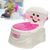 Baby Potty Chair Children Toilet Seat Children Kids Toddler Cute Cartoon Training Toilet Seats Folding Portable Travel Potties