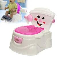 Baby Potty Chair Children Toilet Seat Children Kids Toddler Cute Cartoon Training Toilet Seats Folding Portable Travel Potties