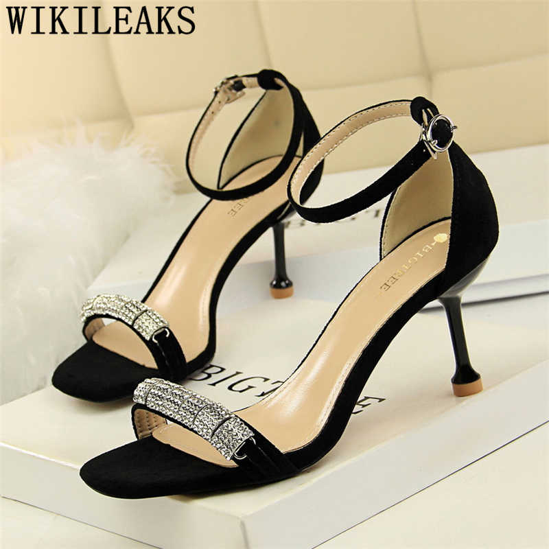Açık toe topuklar taklidi sandalet elbise ayakkabı kadın fetiş yüksek topuklu sandalet kadın mary Jane ayakkabı düğün sandalet seksi topuklu